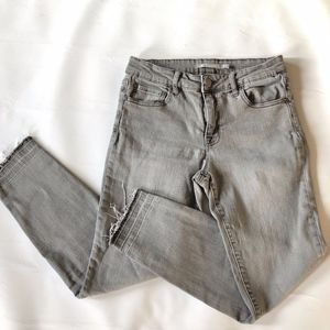 Tractr Raw Hem Skinny Jeans